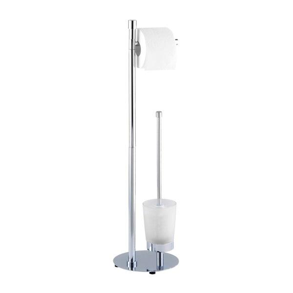 Suport pentru hârtia și peria de toaletă Wenko Roma