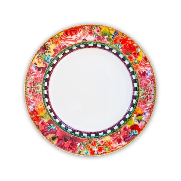 Porcelánový mělký talíř Melli Mello Eliza, 21 cm