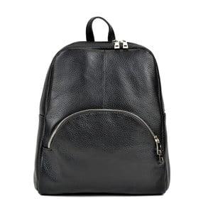 Černý kožený batoh Renata Corsi Durmello