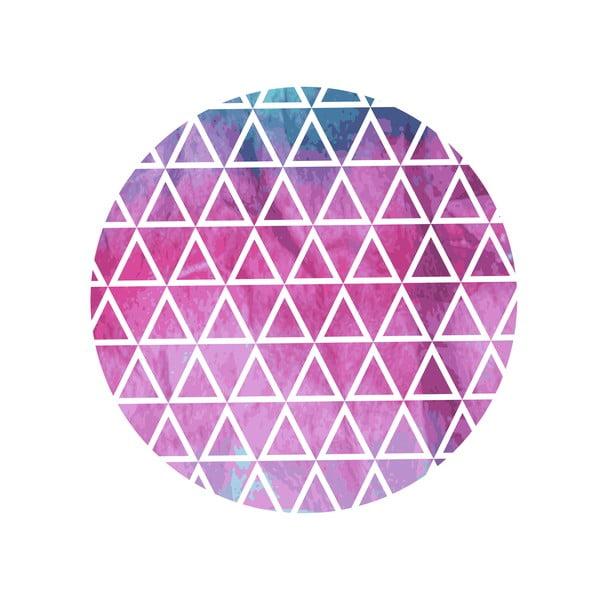 Sada 2 odkládacích stolků Pink And Blue, 35 cm + 49 cm