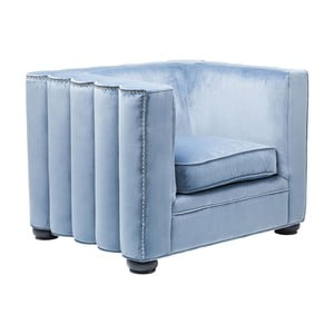 Fotoliu Kare Design Wave, albastru