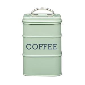 Zelená plechová dóza na kávu Kitchen Craft Nostalgia