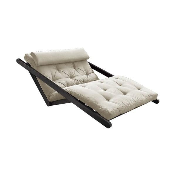 Canapea extensibilă Karup Design Figo Black, bej