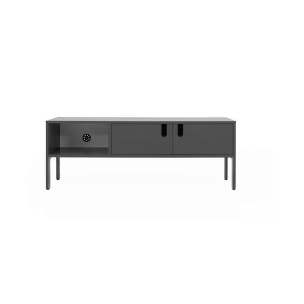 Šedý TV stolek Tenzo Uno, šířka 137cm
