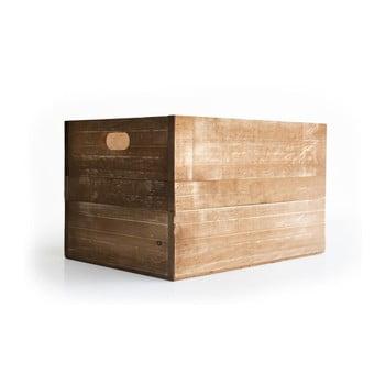 Lădiță decorativă din lemn de pin Really Nice Things, maro