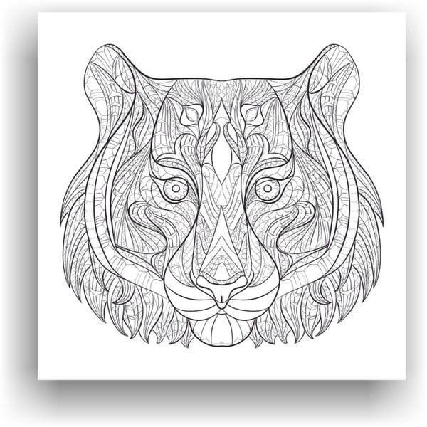 Obraz k vymalování Color It no. 44, 50x50 cm