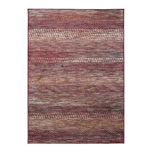 Červený koberec z viskózy Universal Belga Beigriss, 70 x 110 cm