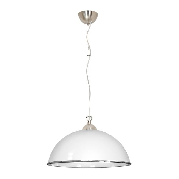 Biała lampa wisząca Evergreen Lights Single Suspension Puro