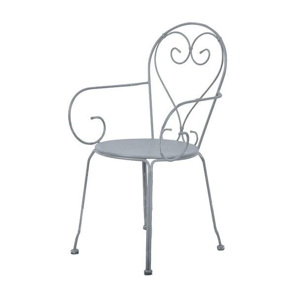 Šedá židle na balkón Esschert Design Nature