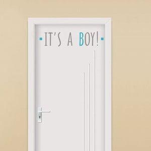 Dekorativní samolepka It´s A Boy, 13x54 cm