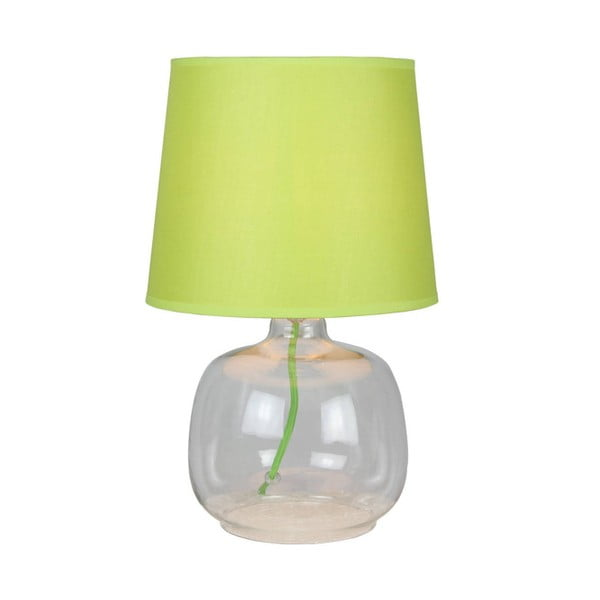 Stolní lampa Mandy, zelená