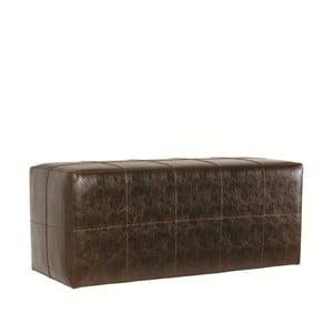 Sedací puf Bakero z umělé kůže, 40x100 cm