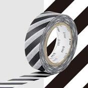 Černobílá washi páska MT Masking Tape Stripes