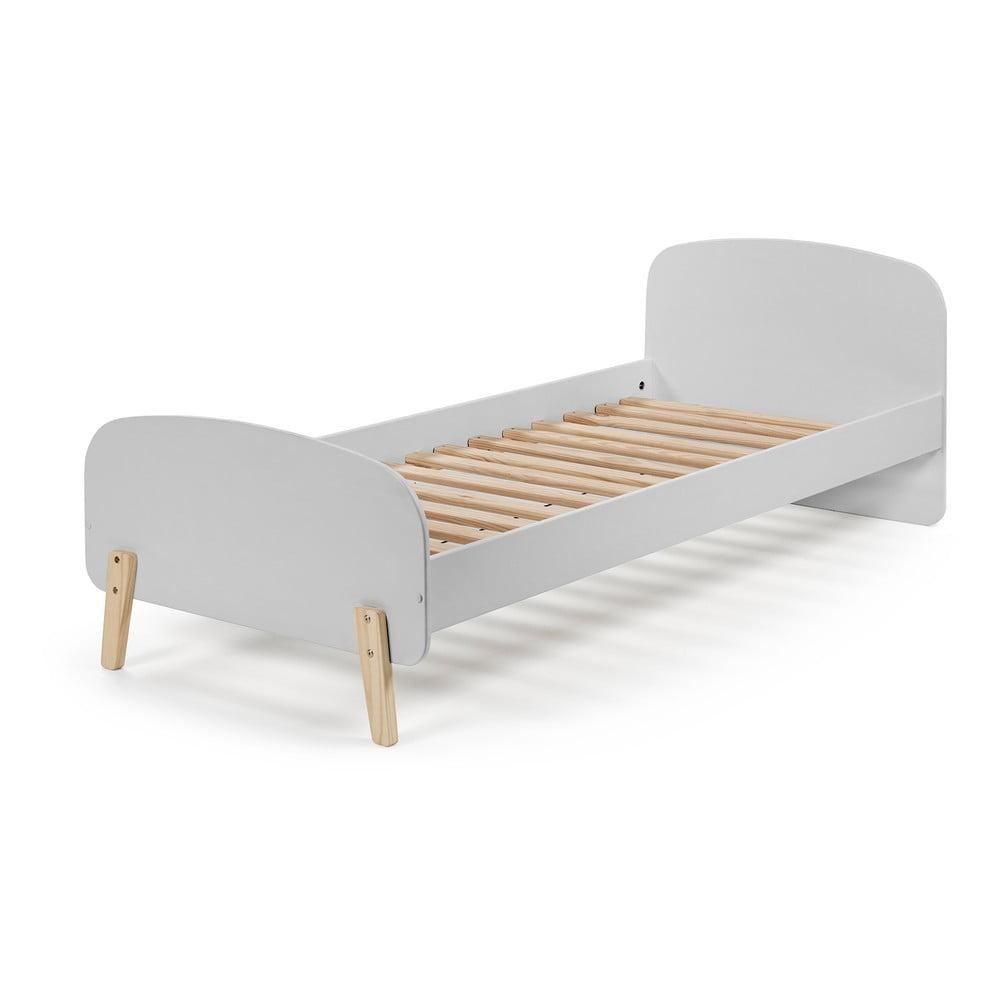 Šedá dětská postel Vipack Kiddy, 200 x 90 cm Vipack