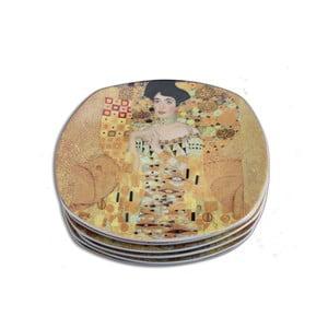 Gustav Klimt - sada 6 dezertních talířků Adele