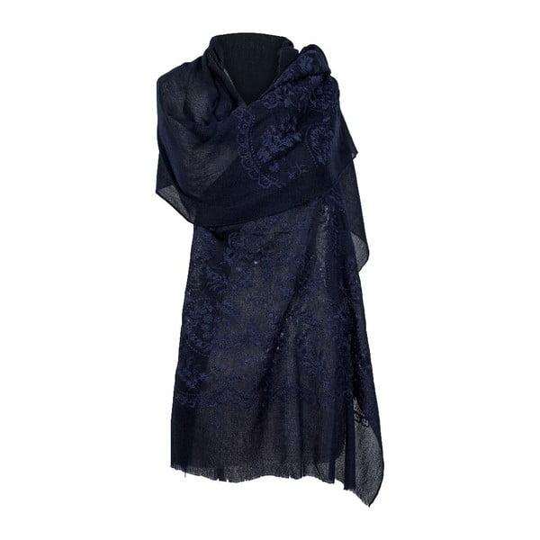 Vlněný šátek Shirin Sehan Rosana Sea