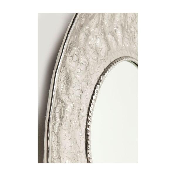 Nástěnné zrcadlo Kare Design Cosmos Flowers, Ø110cm
