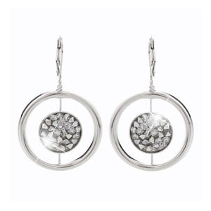 Cercei Swarovski Elements Laura Bruni Circle Puro