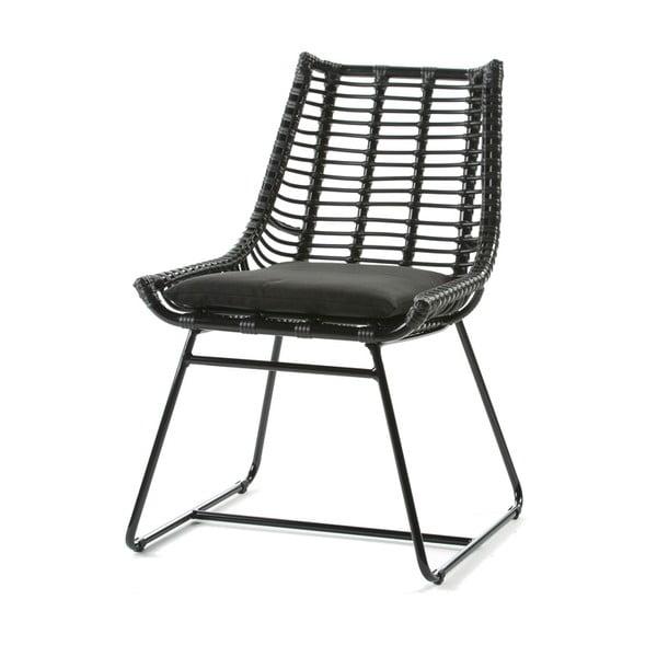 Czarne krzesło Thai Natura Angular