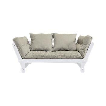 Canapea extensibilă Karup Design Beat White bej - gri