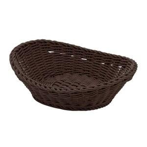 Košík Ovaler Brown, 23,5x16x6,5 cm