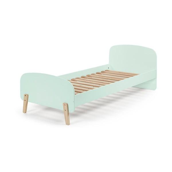 Mentolová dětská postel Vipack Kiddy, 200 x 90 cm