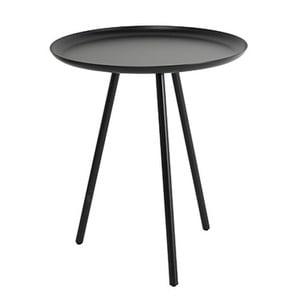Šedý odkládací stolek Frost