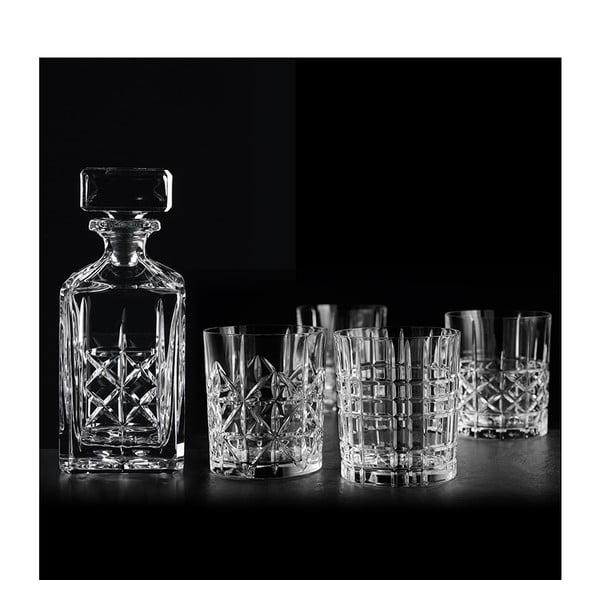 Set karafy a 4 pohárov na whisky z krištáľového skla Nachtmann Highland Whisky Set