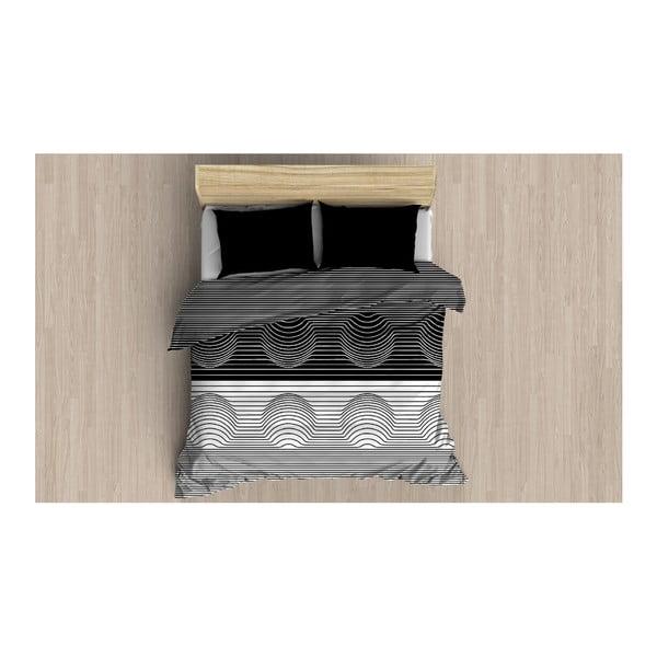 Povlečení s prostěradlem a 2 povlaky na polštáře Tuliya, 200 x 220 cm