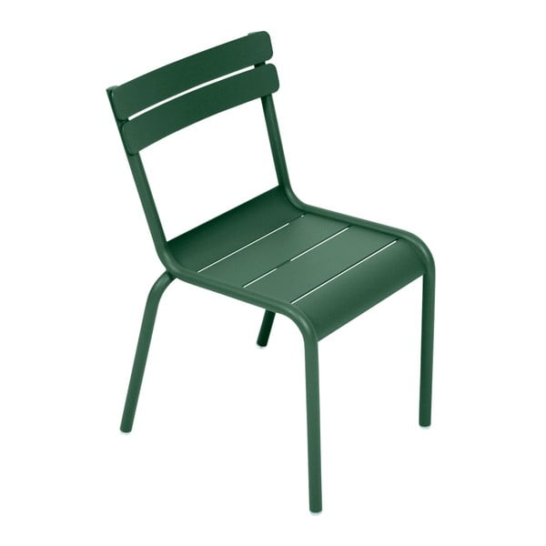 Zelená dětská židle Fermob Luxembourg