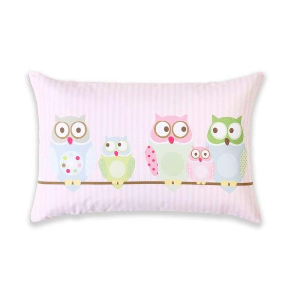 Polštář Little Night Owl, 60x40 cm