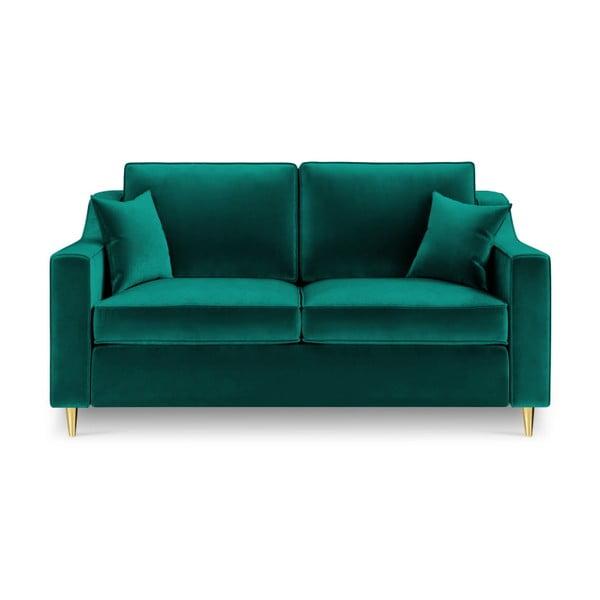 Zelená dvoumístná pohovka Mazzini Sofas Marigold