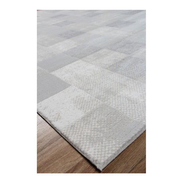 Koberec Mosaic White, 160x230 cm
