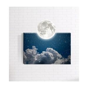 Nástěnný 3D obraz Mosticx Měsíc, 40 x 60 cm