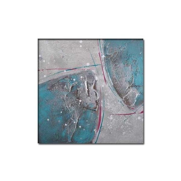 Obraz Turquois B, 30x30 cm