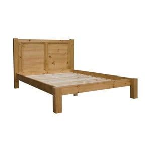 Masivní postel s rošty SOB Westmorland, 180x200cm