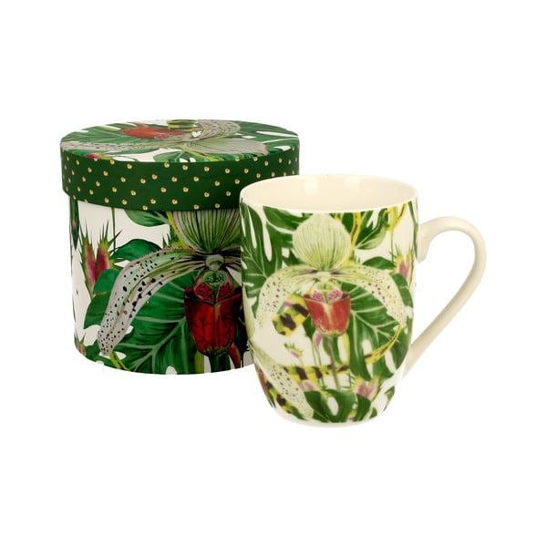 Porcelánový hrnek Duo Gift Orchid, 375 ml