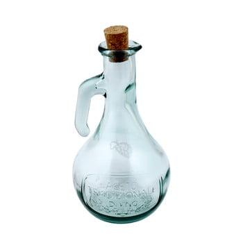 Oțetieră din sticlă reciclată Ego Dekor Di Vino, 500 ml, transparent imagine