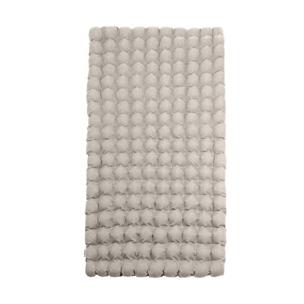 Světle šedá relaxační masážní matrace Linda Vrňáková Bubbles, 110x200cm