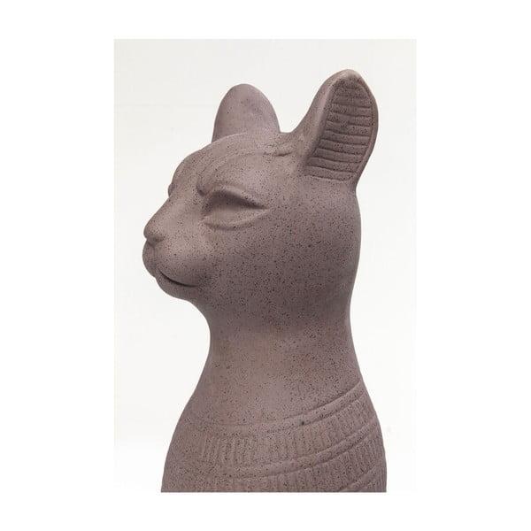 Statuetă decorativă în formă de pisică Kare Design Cat, 77 cm