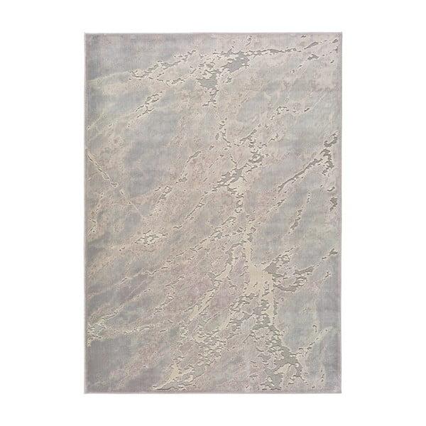 Šedo-béžový koberec z viskózy Universal Margot Marble, 200 x 300 cm