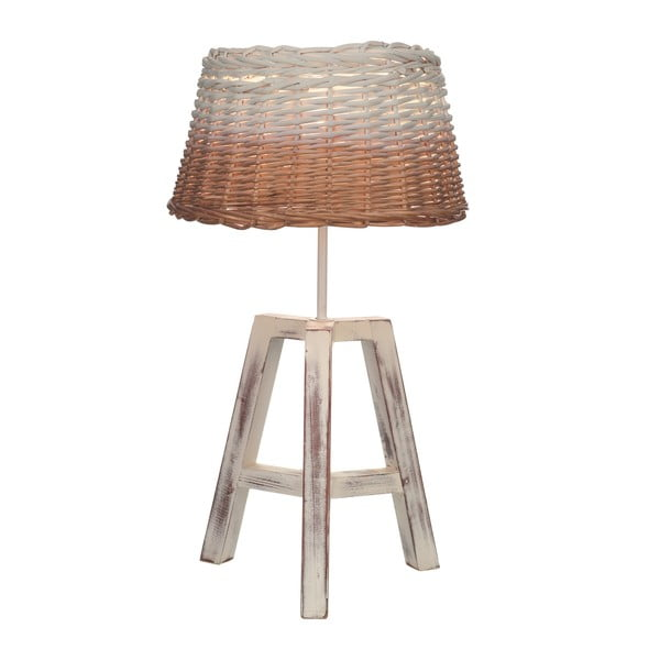 Stolní lampa Artesania Esteban Ferrer Wicker