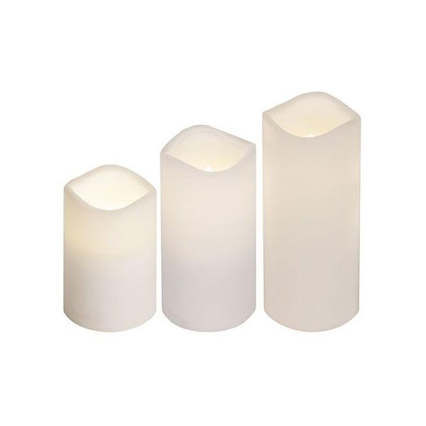 Sada 3 LED svíček Best Season Candles