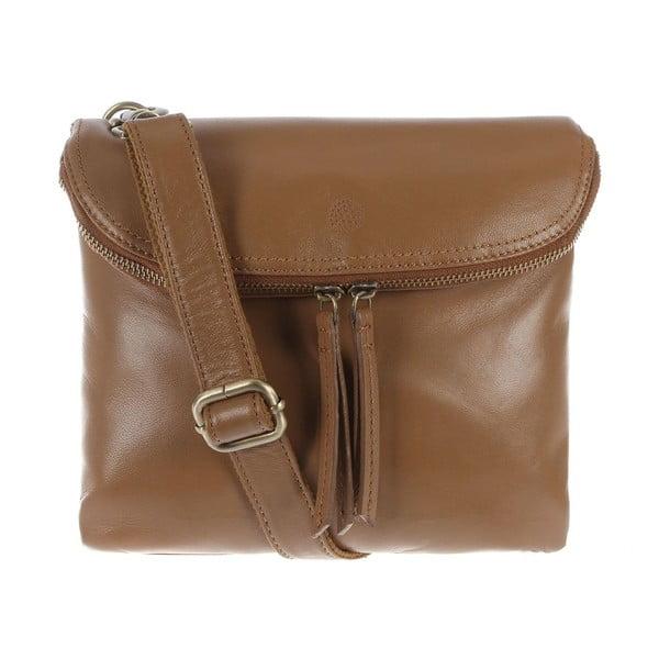 Dámská kožená taška Violet Biscuit Small Flap Cross-Body