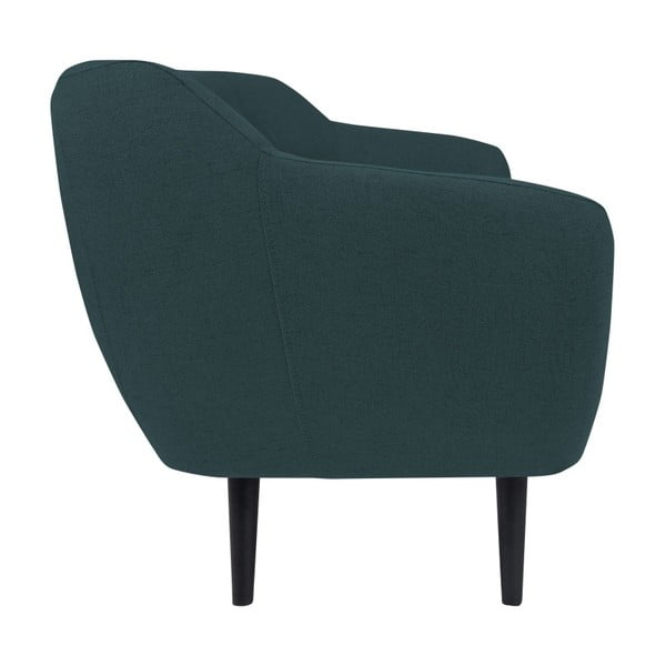 Canapea cu 2 locuri Mazzini Sofas Piemont, turcoaz