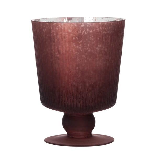 Svícen/váza Hurricane Red, 16 cm