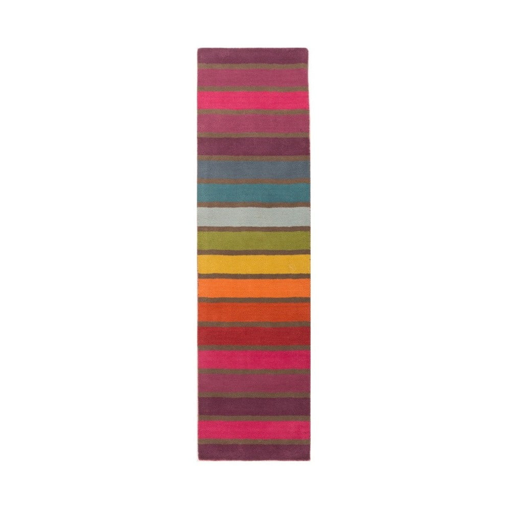 Vlněný běhoun Flair Rugs Illusion Candy 60 x 230 cm