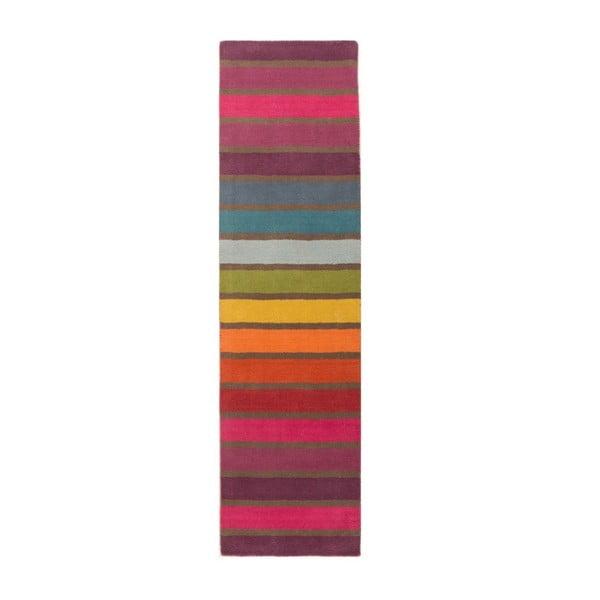 Vlnený behúň Flair Rugs Illusion Candy, 60×230cm