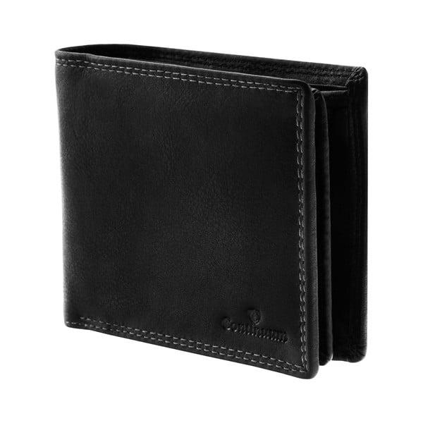 Kožená peněženka Continuum 1518, dvojité prošívání