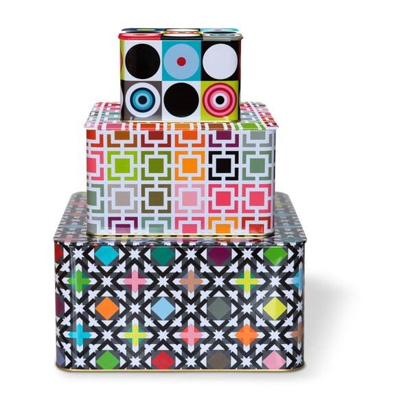 Sada 3 cínových krabiček Remember Nuovo